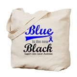 ColonCancerBlueTheNewBlack Tote Bag