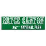 Bryce Canyon Western Flair Bumper Bumper Sticker