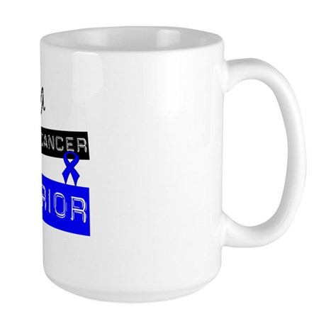 Colon Cancer Warrior Large Mug