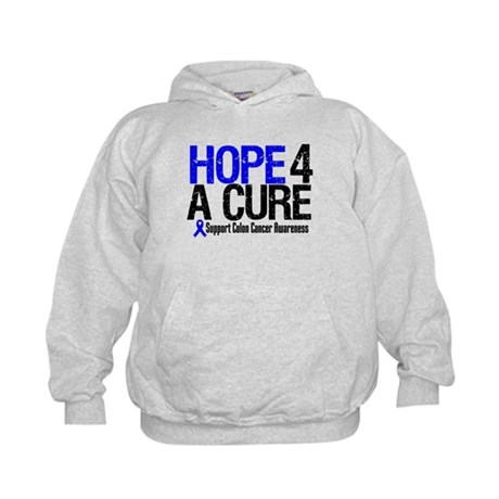 Colon Cancer Hope 4 a Cure Kids Hoodie