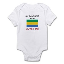 My Gabonese Mom Loves Me Infant Bodysuit