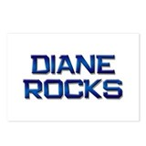 diane rocks Postcards (Package of 8)