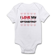 I Love My Optometrist Infant Bodysuit