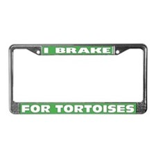 Cute Tortoises License Plate Frame
