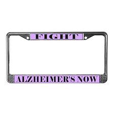 Fight Alzheimer's License Plate Frame