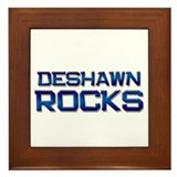 deshawn rocks Framed Tile