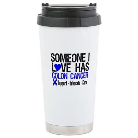 SomeoneILoveHasColonCancer Ceramic Travel Mug