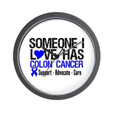 SomeoneILoveHasColonCancer Wall Clock