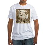 Have A Heart! Adopt A Dog! Fitted T-Shirt