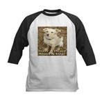Have A Heart! Adopt A Dog! Kids Baseball Jersey