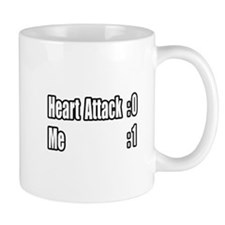 """Heart Attack Survivor"" Small Mugs"