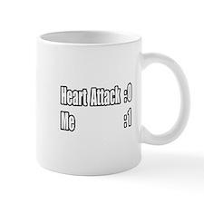 """""""Heart Attack Survivor"""" Small Mugs"""