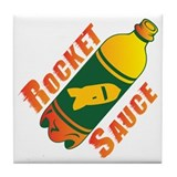 Rocket Sauce Tile Coaster