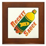 Rocket Sauce Framed Tile
