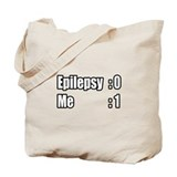 """I'm Beating Epilepsy"" Tote Bag"