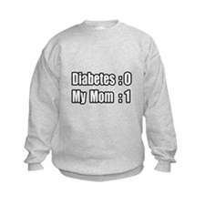 """Mom is Beating Diabetes"" Sweatshirt"