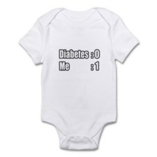 """I'm Beating Diabetes"" Infant Bodysuit"