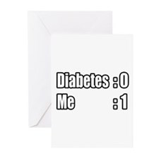 """I'm Beating Diabetes"" Greeting Cards (Pk of 20)"