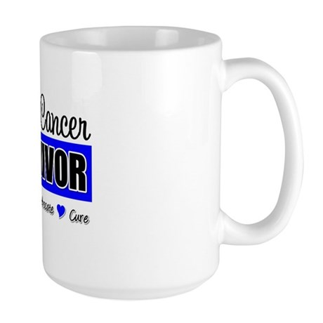 Colon Cancer Survivor Large Mug