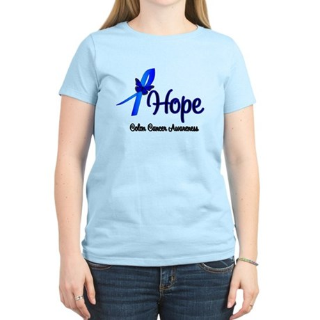 Hope Colon Cancer Women's Light T-Shirt