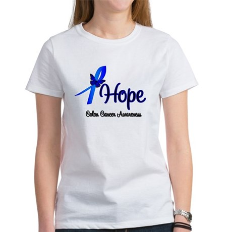Hope Colon Cancer Women's T-Shirt