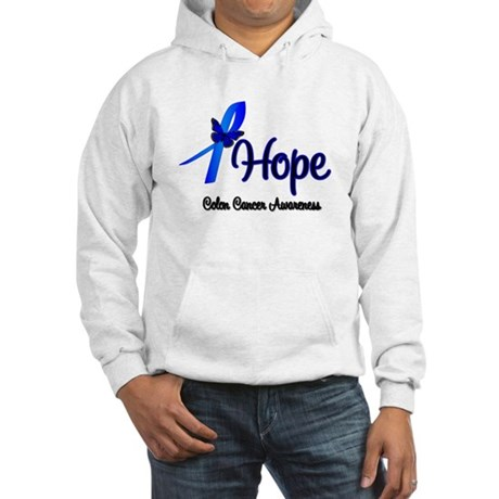 Hope Colon Cancer Hooded Sweatshirt