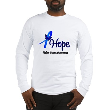 Hope Colon Cancer Long Sleeve T-Shirt