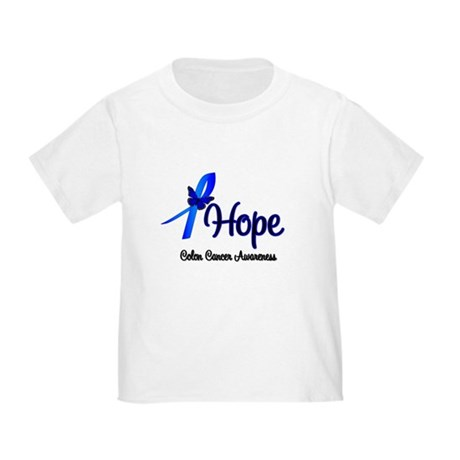Hope Colon Cancer Toddler T-Shirt
