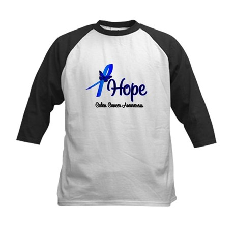 Hope Colon Cancer Kids Baseball Jersey