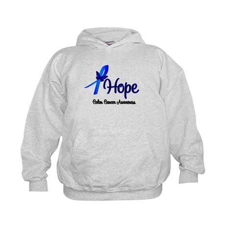 Hope Colon Cancer Kids Hoodie
