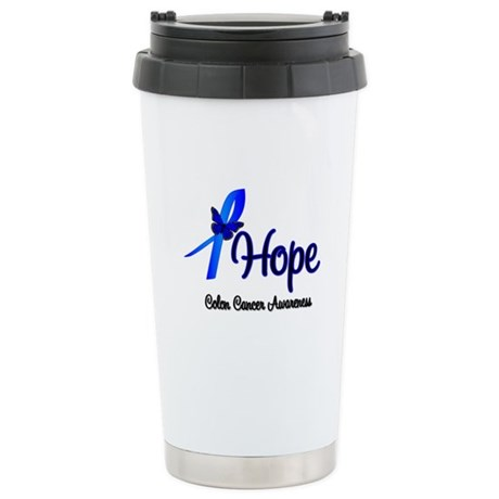 Hope Colon Cancer Ceramic Travel Mug