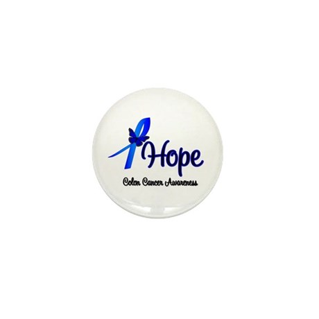 Hope Colon Cancer Mini Button