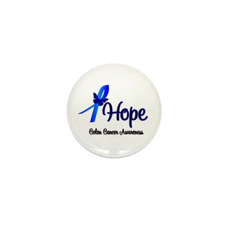Hope Colon Cancer Mini Button (100 pack)