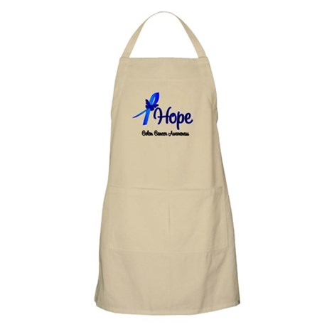 Hope Colon Cancer BBQ Apron
