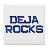 deja rocks Tile Coaster