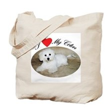 I heart my Coton Tote Bag