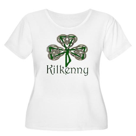 Kilkenny Shamrock Women's Plus Size Scoop Neck T-S