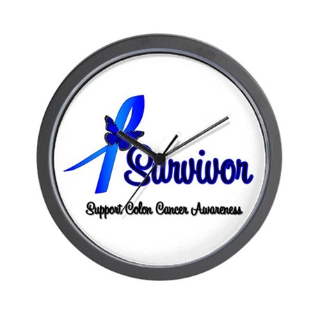 Colon Cancer Survivor Wall Clock