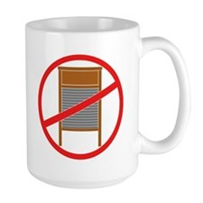 No Washboards! Mug