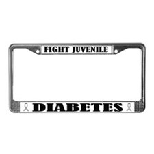 Fight Juvenile Diabetes License Frame