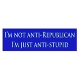 Anti-Republican Bumper Sticker (10 pk)