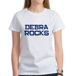 debra rocks Women's T-Shirt