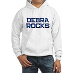 debra rocks Hooded Sweatshirt