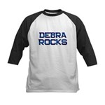 debra rocks Kids Baseball Jersey
