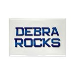 debra rocks Rectangle Magnet (10 pack)