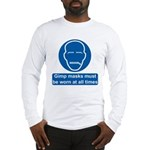 Gimp Mask Comedy Sign Long Sleeve T-Shirt