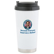 Bank Of Obama Ceramic Travel Mug
