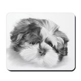 Shih Tzu puppy Mousepad