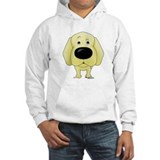 Big Nose/Butt Yellow Lab Hoodie