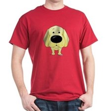 Big Nose Yellow Lab T-Shirt